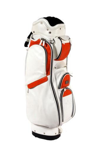 Joejo - SALSA Leder Kart Golfbag (wasserabweisend)