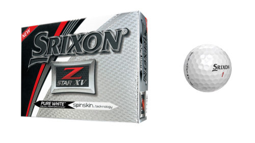 Srixon - Z-STAR XV Golfball - 5. Generation weiss (12-Pack)