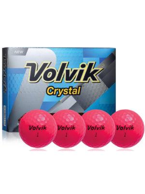 Volvik - CRYSTAL pink (12-Pack)