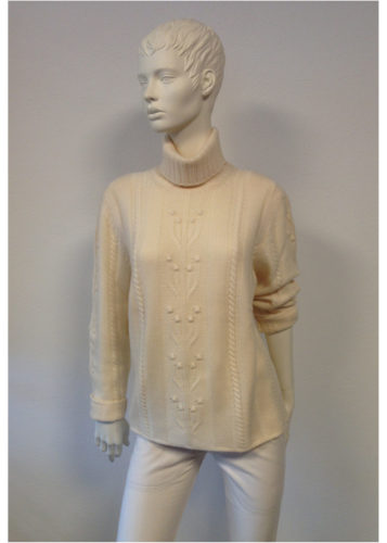 J.C.M. - Kashmir Damen Rollkragen Pullover