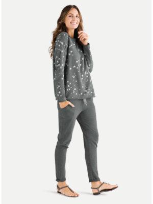Juvia - Sweater mit Allover-Sternen-Print