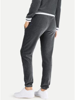 Juvia - Trouser Nicki mit zweifarbigem Bund
