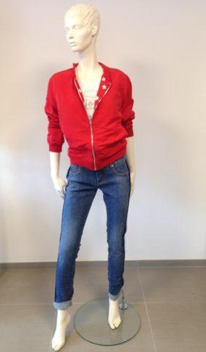 Barbone - INA FINE Jeans mit Glitzer-Effekt