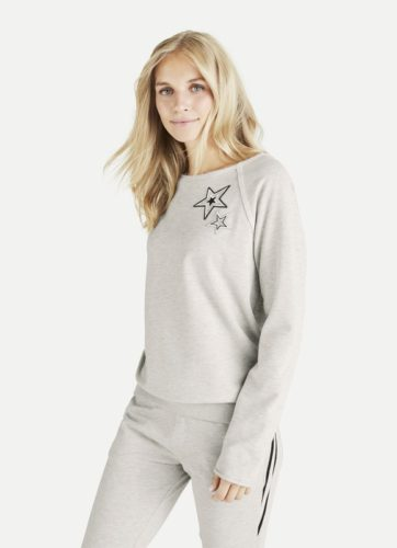 Juvia - STAR Fleece Sweater mit Sterne