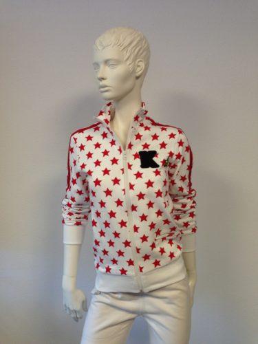Kengstar - Sweat-Shirt-Jacke mit Sternen