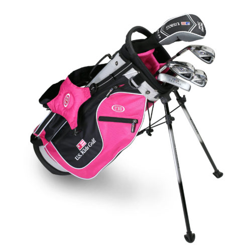 U.S. Kids Golf - Junior Stand Bag 120-125 cm - Komplettset 2017