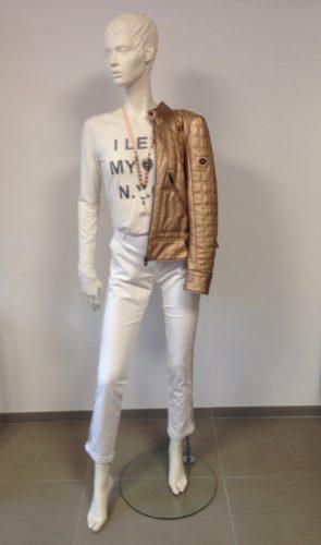 Barbone - MIA CHINO Hose mit Seiten-Streifen