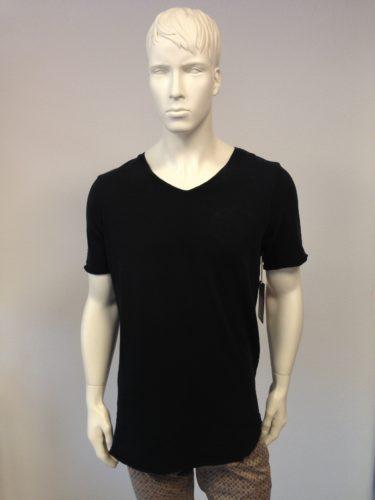 True Religion - T-Shirt V-Neck mit Indian-Print