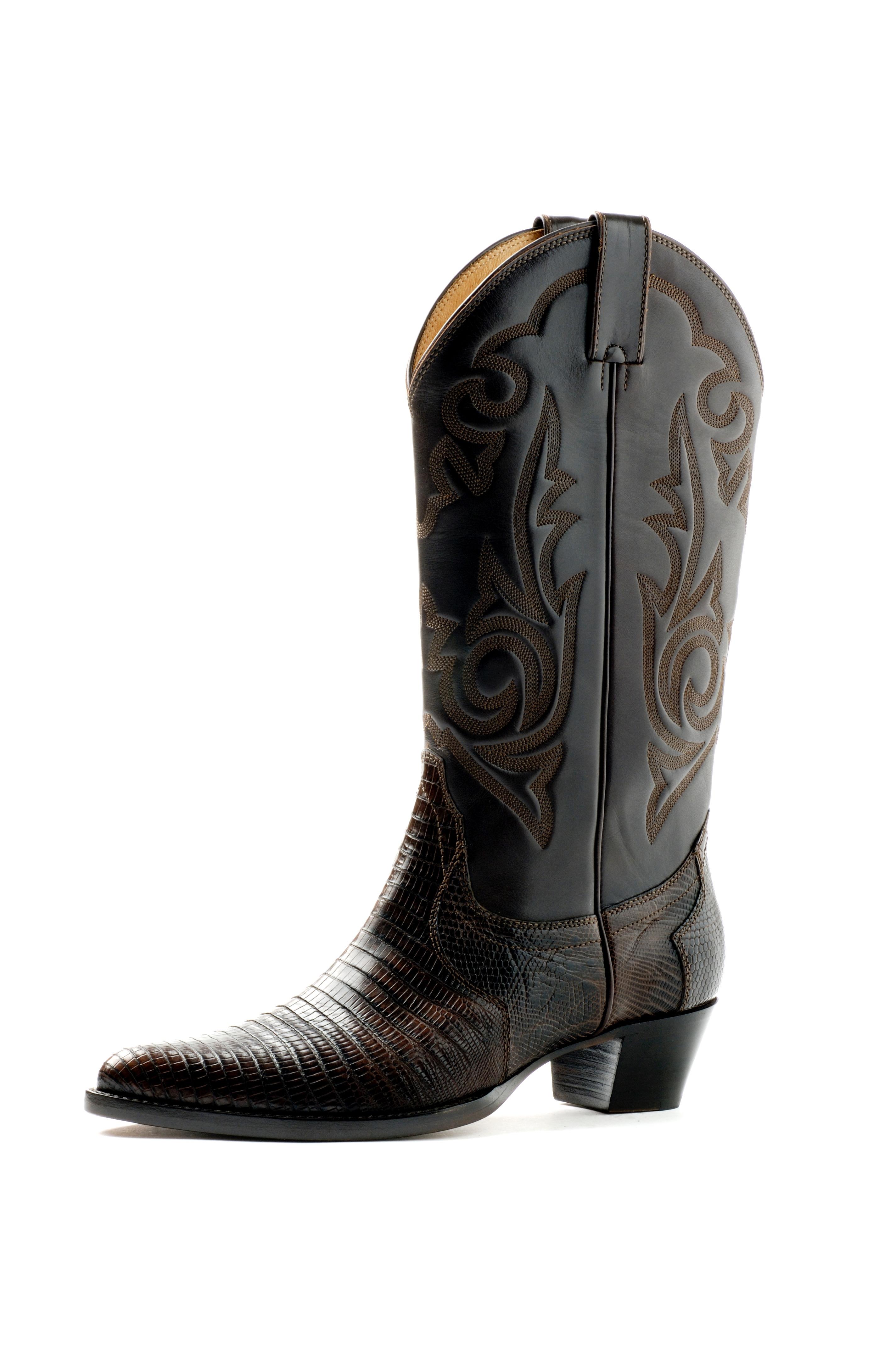 5ba74b235c741a Unützer - TEJUS Cowboy-Leder-Stiefel - Schaftweite  ca. 16 cmGolf ...