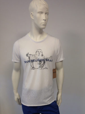 True Religion - T-Shirt Buddha-Print