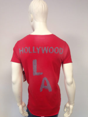 True Religion - T-Shirt Hollywood-Print