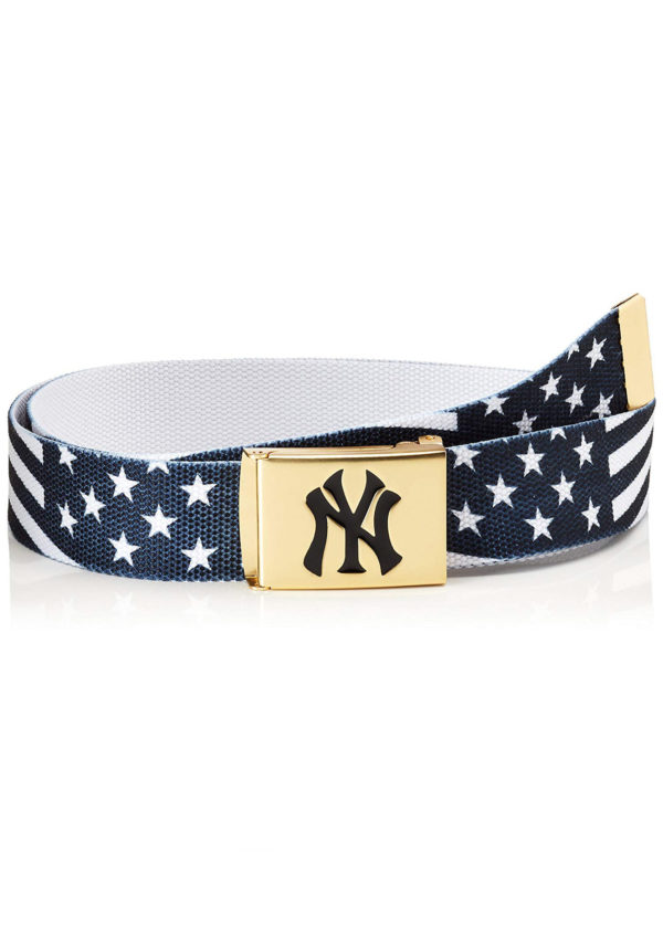 MLB-Woven-Guertel-mit-Logo-