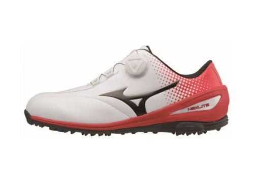 MIZUNO - NEXLITE 004 Golfschuh weiss-rot
