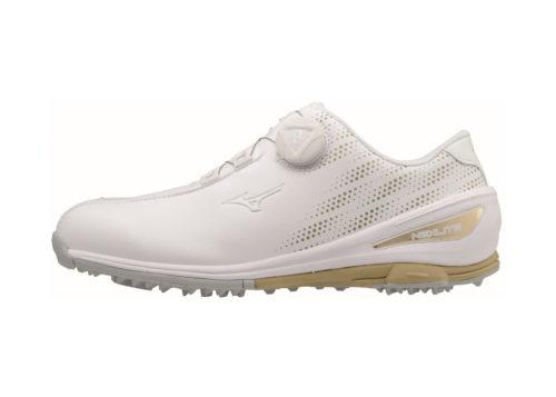 MIZUNO - NEXLITE W 004 Golfschuh weiss-gold