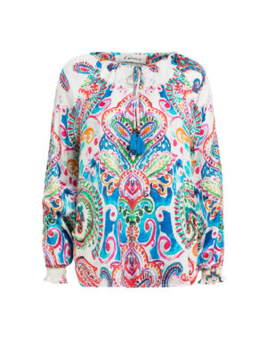Bluse mit Paisley-Muster - Grace