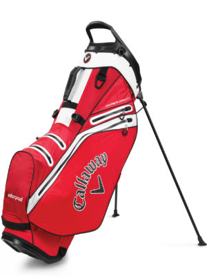 CALLAWAY - HYPER-DRY-14 STAND red