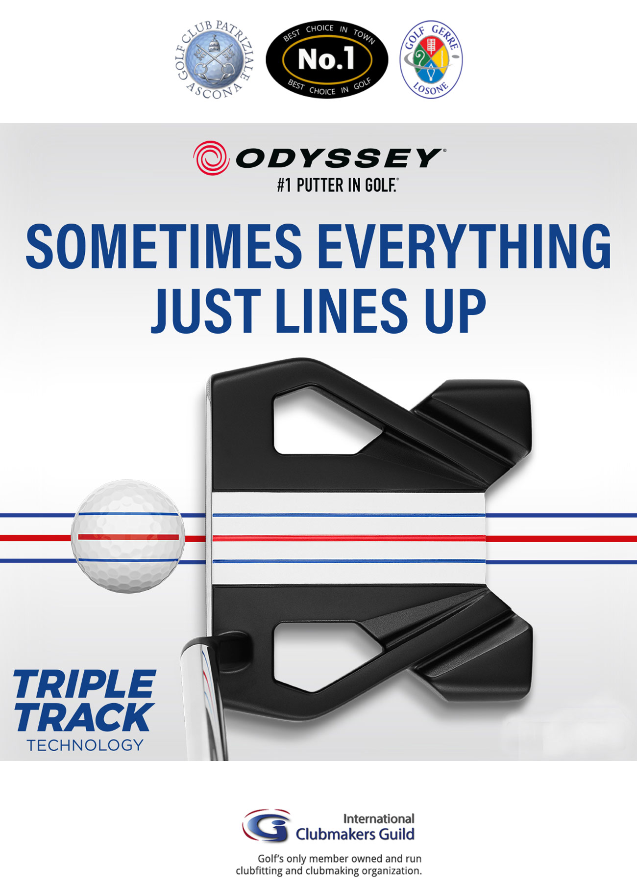Odyssey - Triple-Track Putter 2020