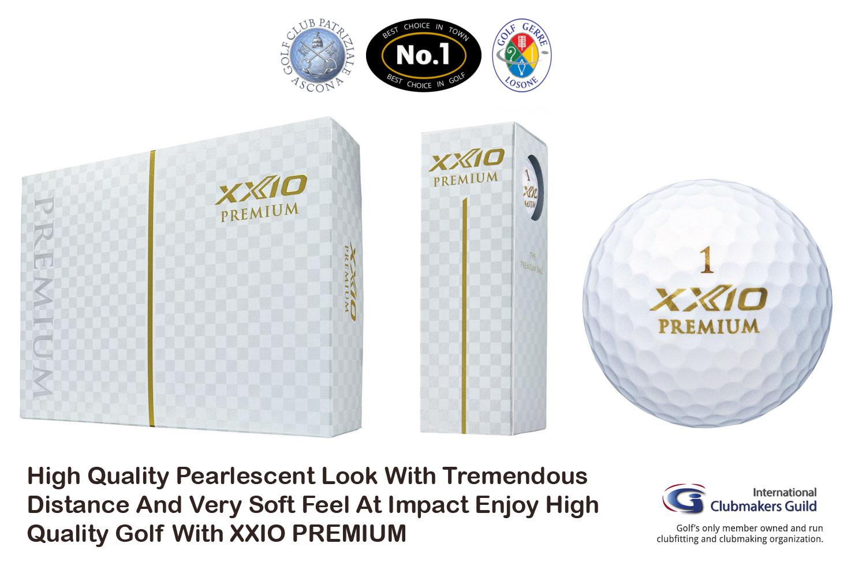 XXIO Premium Gold Golfbälle